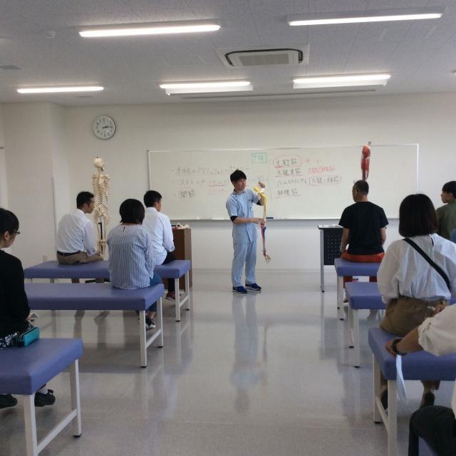 米田柔整専門学校 学校説明会 全コース対象1