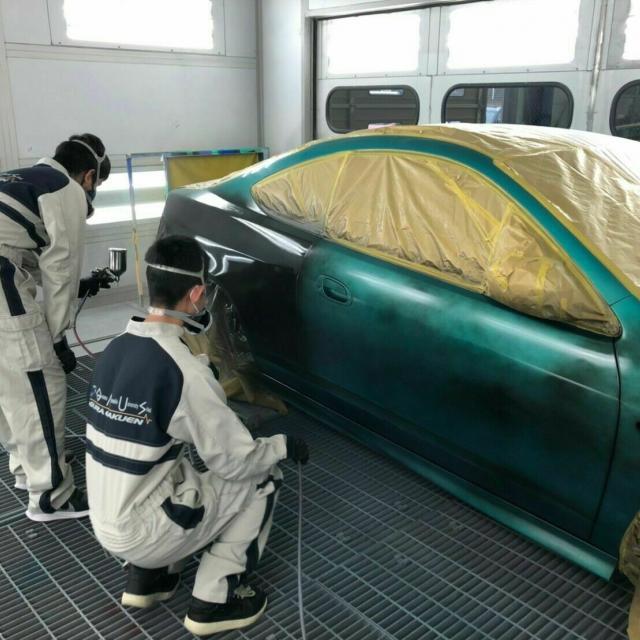 専門学校 群馬自動車大学校 86整備体験・インテグラ塗装体験1