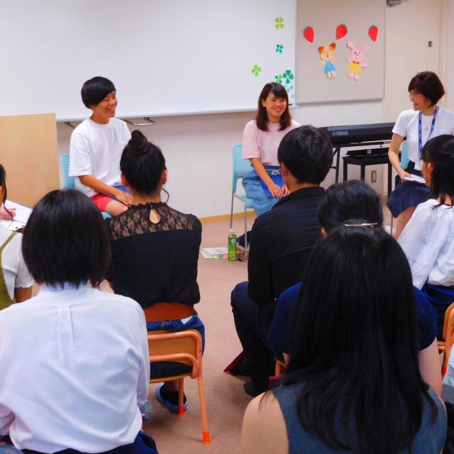 滋賀短期大学 幼児教育保育学科 オープンキャンパス20193