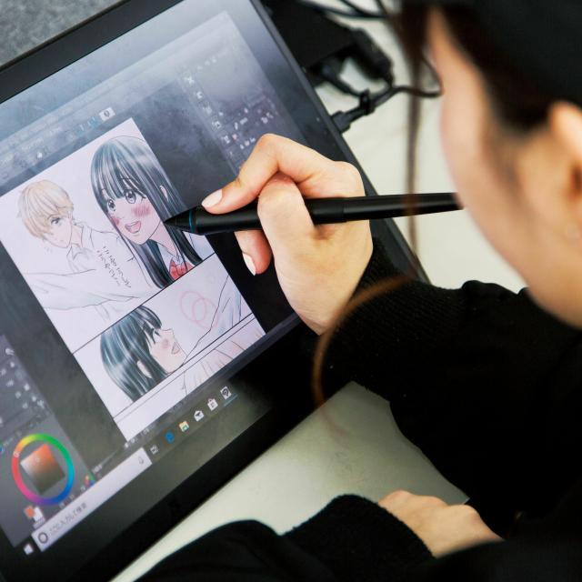 専門学校日本デザイナー学院 デジタルマンガの描き方講座1