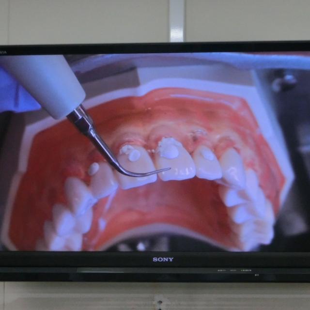 熊本歯科技術専門学校 「歯科衛生士」のお仕事を体験!2