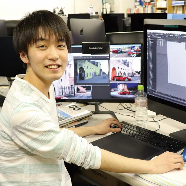 専門学校 九州デザイナー学院 4月の体験入学(ゲーム)2
