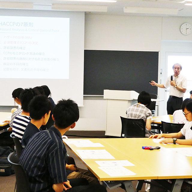 新潟薬科大学 【味が変化? 味覚の不思議を体験】オープンキャンパス20182