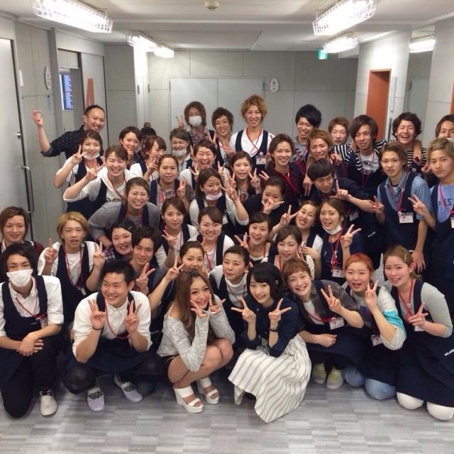 大阪ベルェベル美容専門学校 この冬♪ベルェベルで気になる実習を体験!4