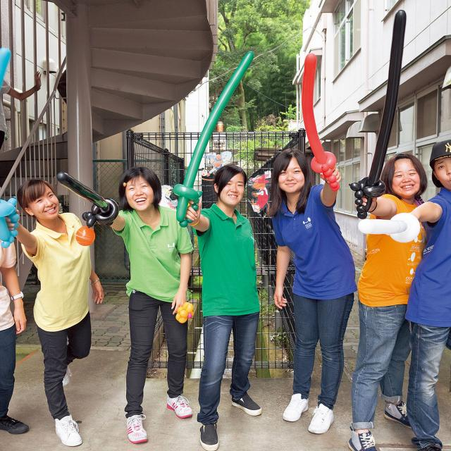 大阪保育福祉専門学校 ハロウィンパーティ☆1