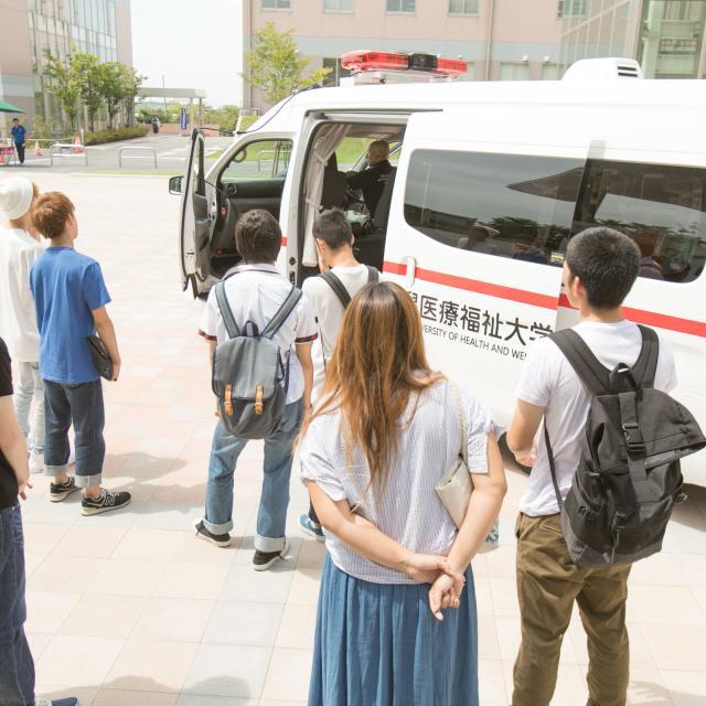 新潟医療福祉大学 【救急救命士】の仕事体験!救急現場の実際を見てみよう!2