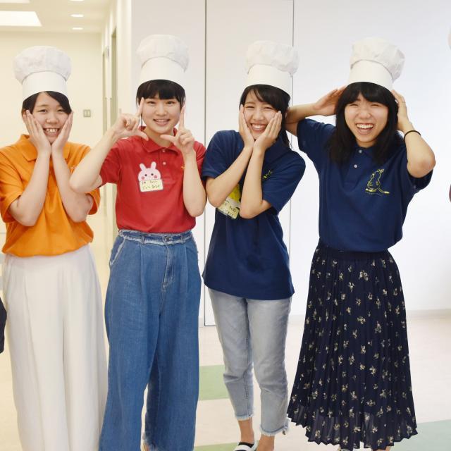 横浜保育福祉専門学校 体験入学 食育体験1