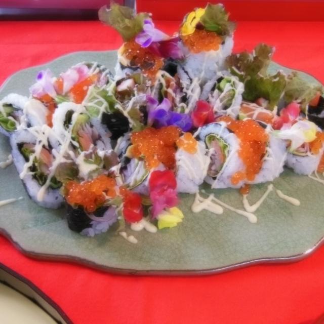 中川学園調理技術専門学校 ☆日本料理「カリフォルニアロール」☆【先着40名】1