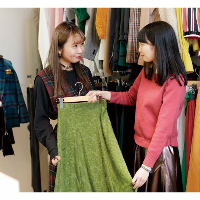 大阪ビジネスカレッジ専門学校 ファッション業界のお仕事体験1