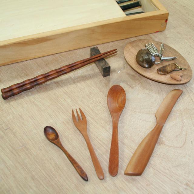 金沢科学技術大学校 【家具クラフト学科】家でも使える木製スプーンを作ってみよう!2