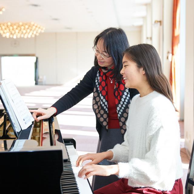 芦屋大学 【要予約】ピアノ個人レッスン1