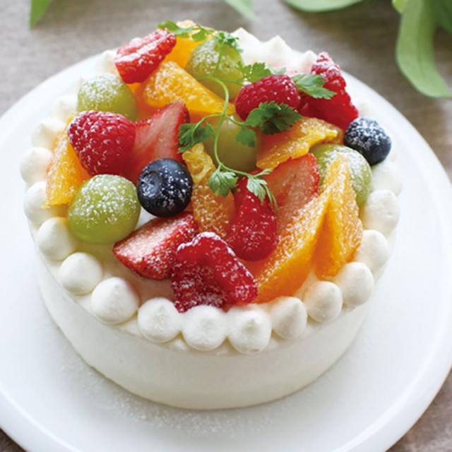 9/17(日)たっぷりフルーツのデコレーションケーキ
