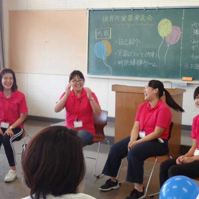岡山短期大学 8月岡短オープンキャンパス4