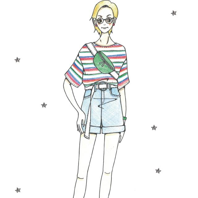 専門学校 九州デザイナー学院 9月の体験入学(ファッション)2