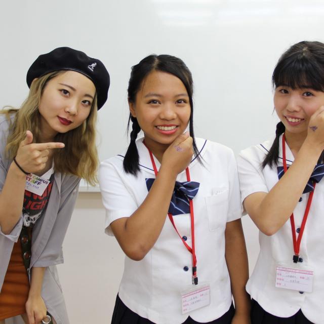 九州美容専門学校 在校生と先生の距離が魅力的!?九美のオープンキャンパス!4