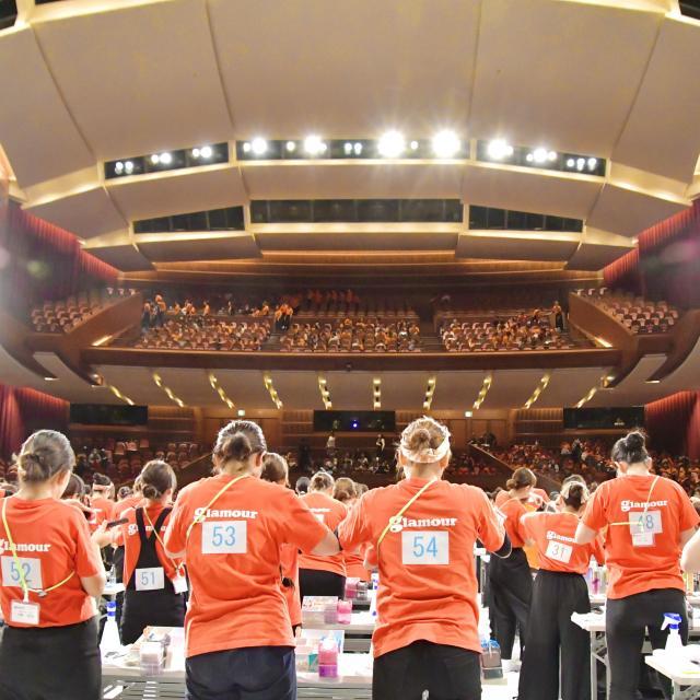 グラムール美容専門学校 沖縄で開催!グラムールスプリングコンテスト!1