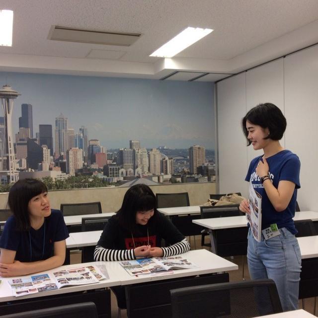 ホスピタリティ ツーリズム専門学校大阪 【英語コミュニケーション】英語体験オープンキャンパス♪2