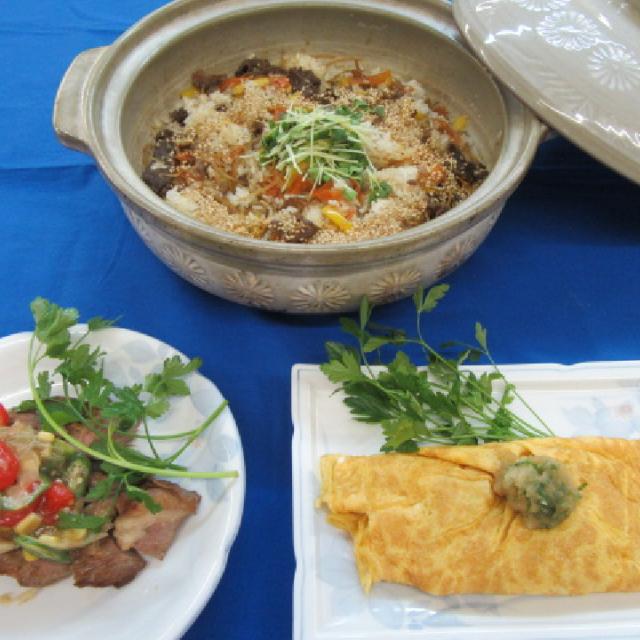 夏休み肉フェス★本格日本料理体験♪