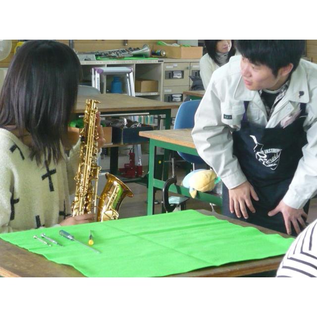 """中部楽器技術専門学校 """"AO対策つき""""オープンキャンパス【管楽器リペア科】1"""