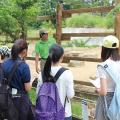 東京コミュニケーションアート専門学校 動物とふれあいながら、 野生動物の保護や管理について学ぼう!