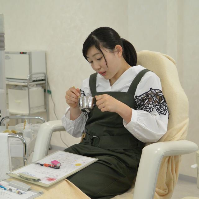 岡山プロフェッショナル・ビューティ 専門学校 チャレンジ体験3