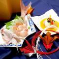 山手調理製菓専門学校 【日本料理】 夏の贅沢お造り~鯛茶漬け~