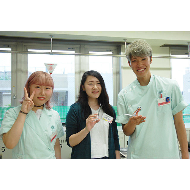 窪田理容美容専門学校 6月23日(土)『KUBORiBiの先輩実習』1