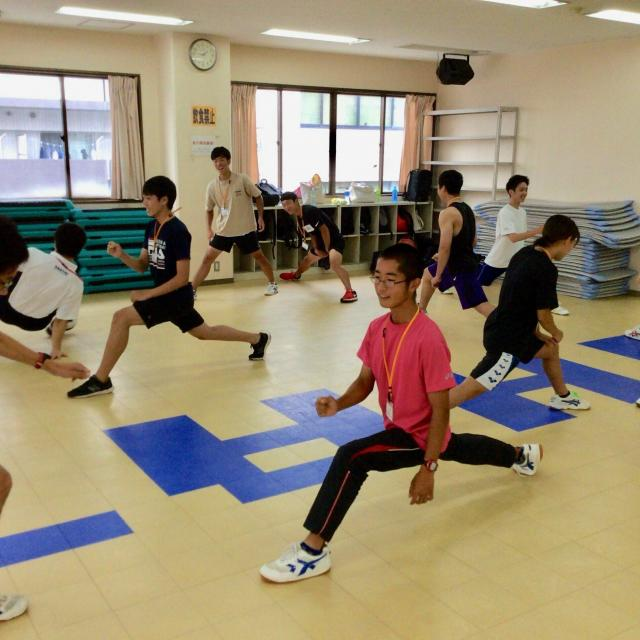 大阪社体スポーツ専門学校 ★レクリエーションの体験授業★1