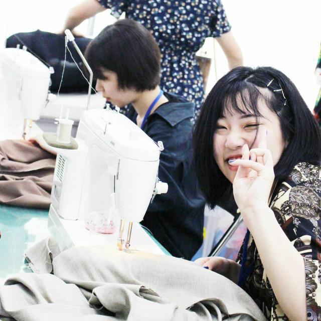 目白ファッション&アートカレッジ ◆来校型◆ミシンを使ったスカートづくりに挑戦!3