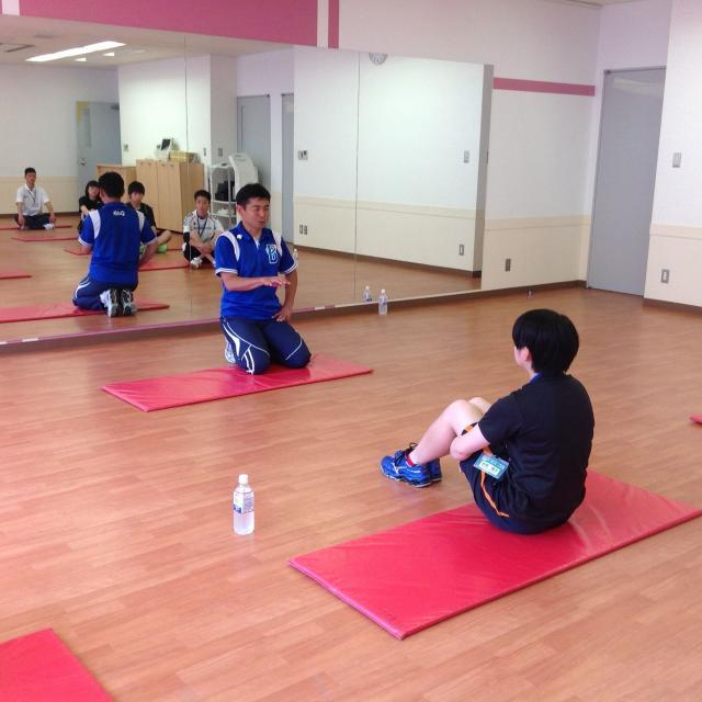 横浜YMCAスポーツ専門学校 スポーツコンディショニング1