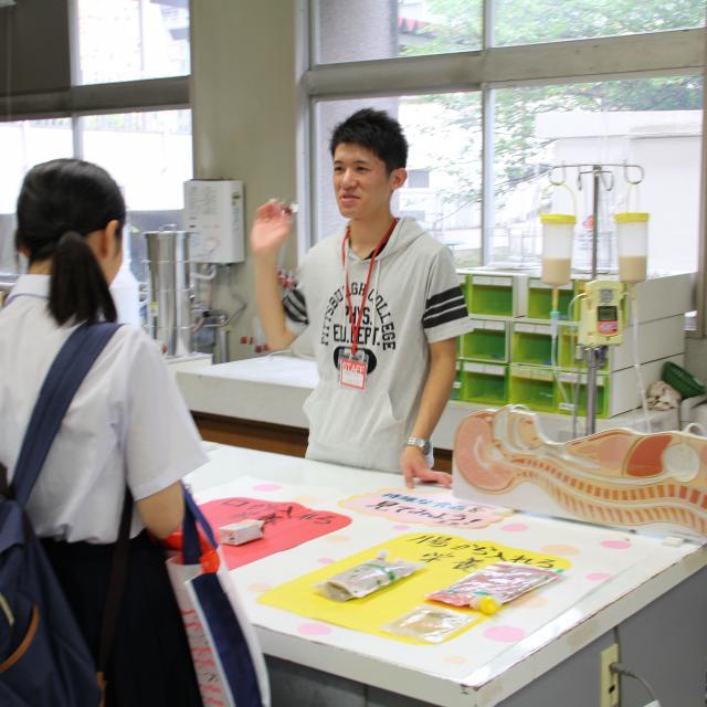 山口県立大学 夏の終わりのオープンキャンパス20182
