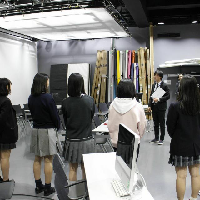 国際文化理容美容専門学校渋谷校 学校見学会1