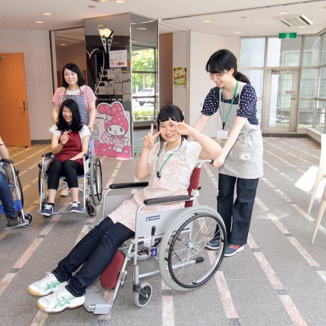 札幌医療秘書福祉専門学校 介護福祉科のオープンキャンパス3