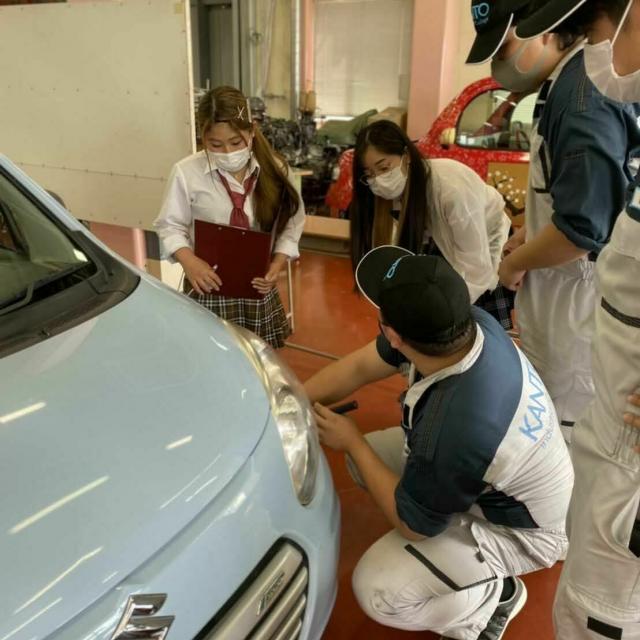 関東工業自動車大学校 【オープンキャンパス】在校生による模擬授業体験!2