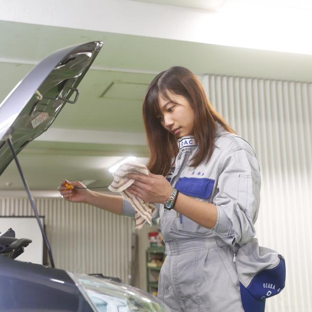 大阪自動車整備専門学校 夏休み特別企画!!サマースクールを開催★2