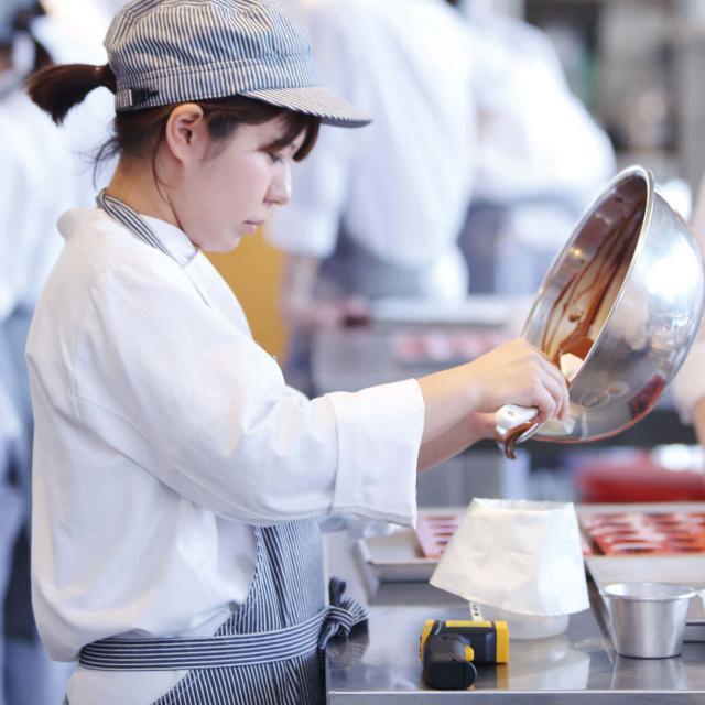 日本調理技術専門学校 (プロのパティシエから学ぶ)製菓オープンキャンパス2