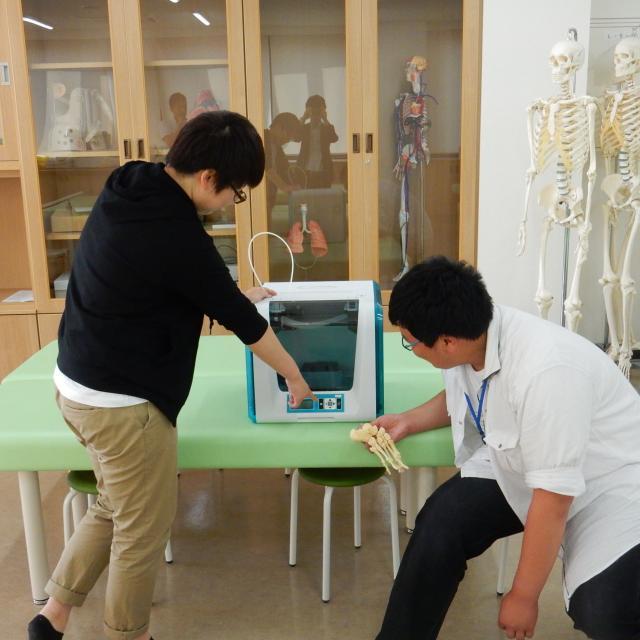 鳥取市医療看護専門学校 【理学療法士学科】6月オープンキャンパス2