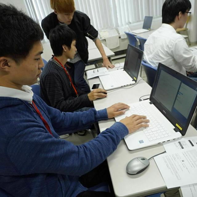 吉田学園情報ビジネス専門学校 【情報システム学科】オープンキャンパス1