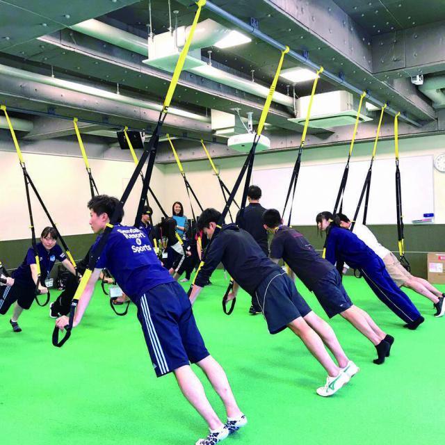 仙台リゾート&スポーツ専門学校 【無料バス付】自重トレーニング・TRX体験1