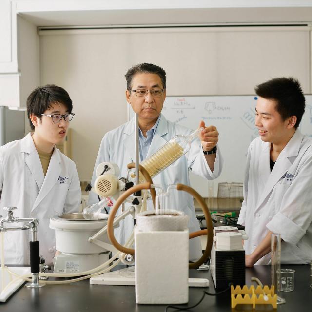 東京バイオテクノロジー専門学校 【化学コース】オープンキャンパス:バイオのコース体験3
