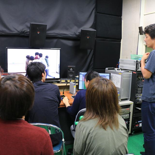 日本映画大学 高校生のためのワークショップ 映像制作23