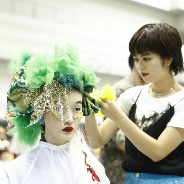 名古屋美容専門学校 HAIR FESTA′184
