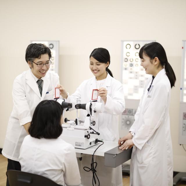 """日本医歯薬専門学校 """"7月8月""""視能訓練士学科 オープンキャンパス4"""