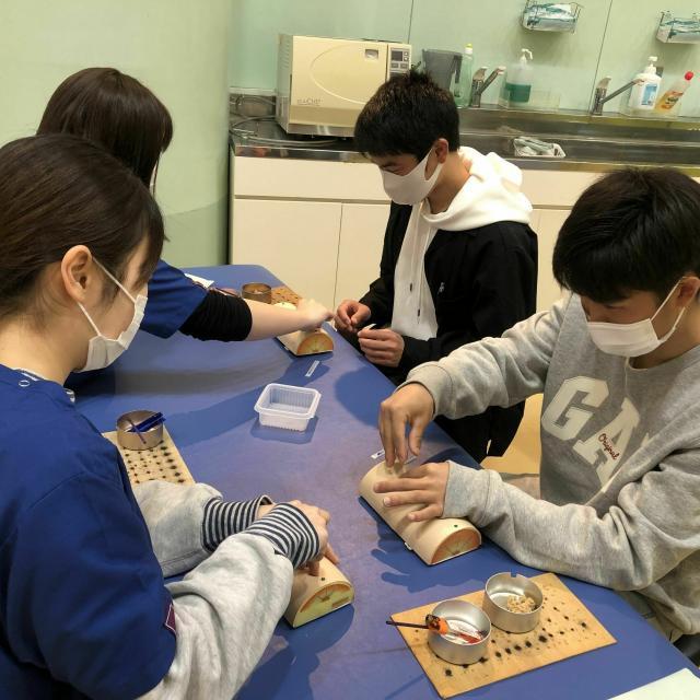 神戸医療福祉専門学校中央校 【鍼灸科】オープンキャンパス☆ハロウィンスペシャル2
