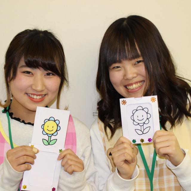仙台幼児保育専門学校 保育技術で子どもの注目の的に!オープンキャンパスbasic4