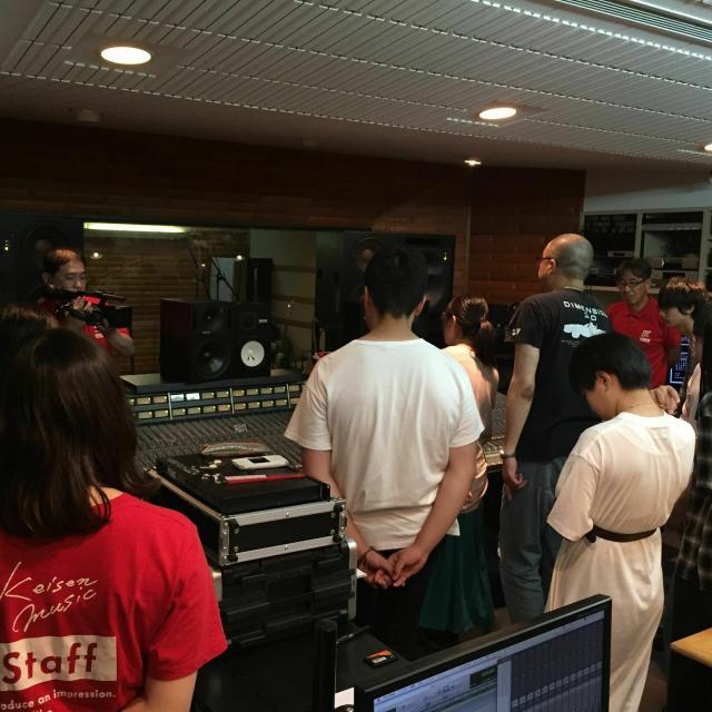 経専音楽放送芸術専門学校 バンド録音!レコーディングエンジニア体験(無料バス)3