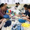 国際ビューティファッション・製菓大学校 ファッションアイテムを作ってみよう!