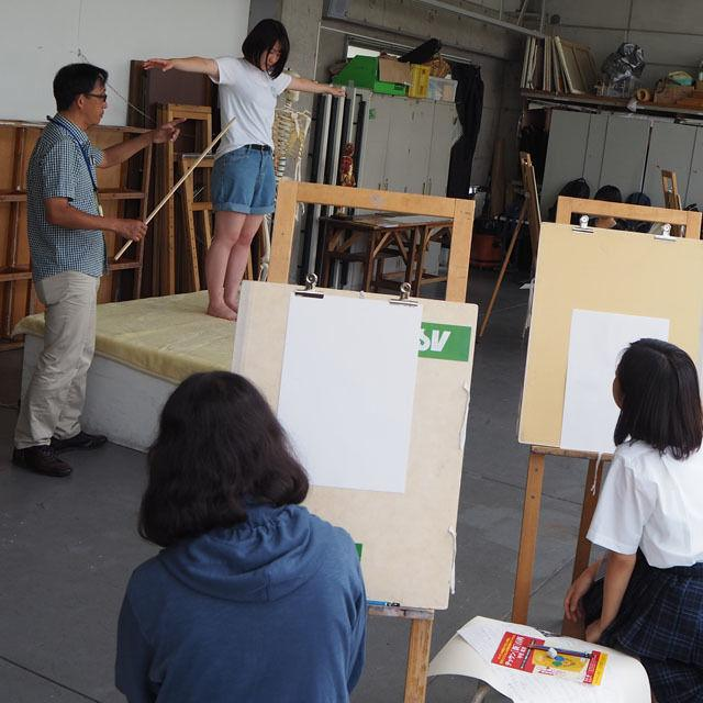 阿佐ヶ谷美術専門学校 マンガ・イラストに活かせるデッサン1