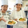 京都調理師専門学校 3分野の料理に挑戦♪オープンキャンパス