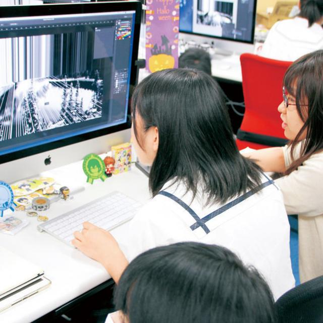 専門学校岡山ビジネスカレッジ アニメ・イラスト学科オープンキャンパス2